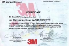 3Μ Marine Division Certificate