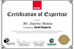 Rupes Certificate of Expertise